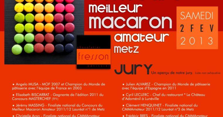 Ma participation au concours du Meilleur Macaron Amateur Metz
