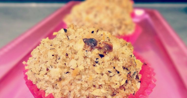 Muffins aux cranberries & chocolat blanc