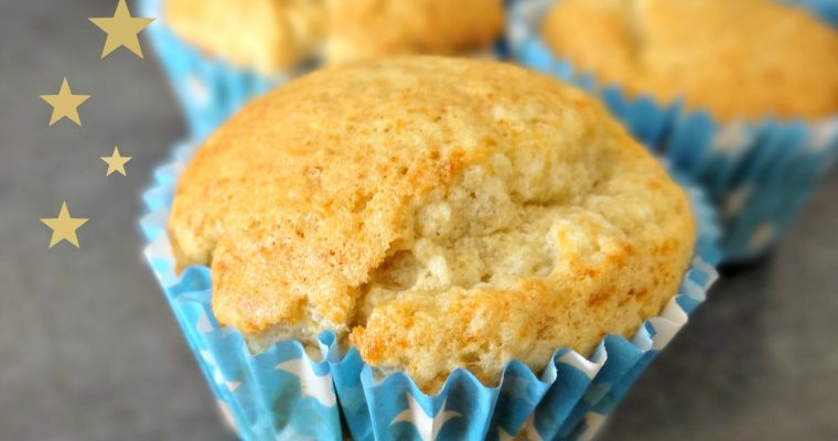 Muffins légers à la bergamote