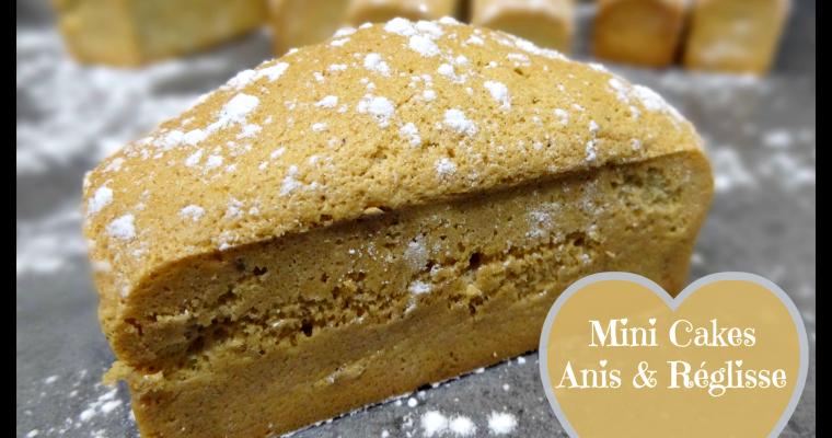 Mini cakes Anis & Réglisse