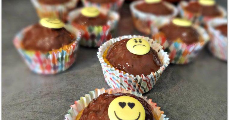 Cupcakes potiron et sirop d'érable