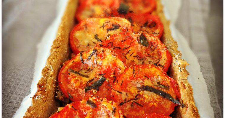 Tarte rustique aux sardines et aux tomates – Plat santé