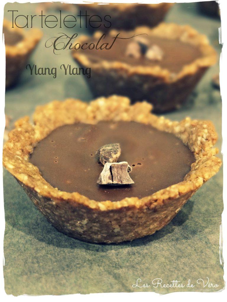 Tartelettes Chocolat Ylang Ylang Sans gluten - Bienvenuechezvero.fr