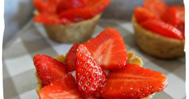 Tartelettes aux fraises (sgsl)