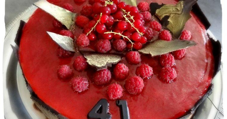 Bavarois Fraises-Framboises (sans gluten et sans caséine)