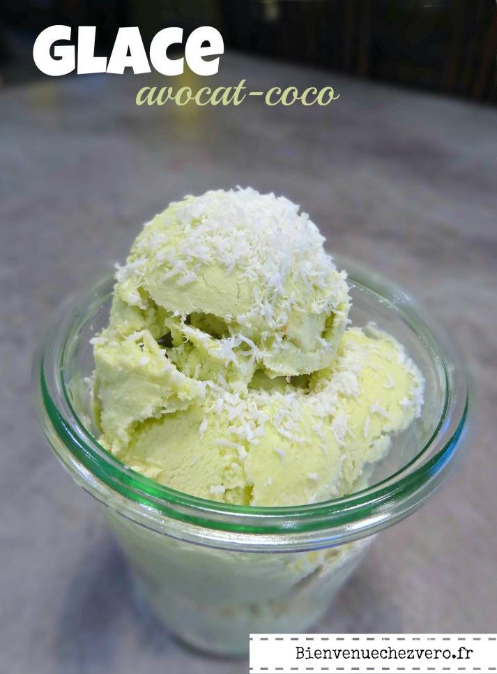 Bienvenue chez Vero - Glace Avocat coco IG Bas - Pint ot