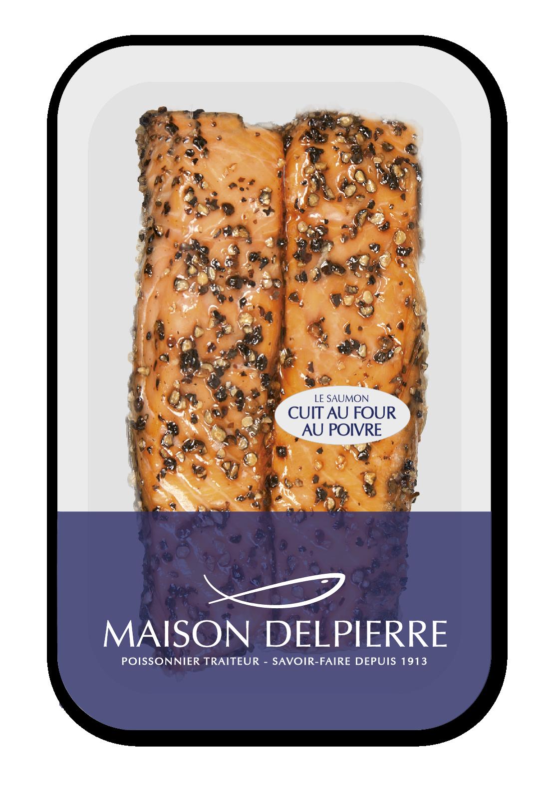 Saumon Cuit au Four au poivre