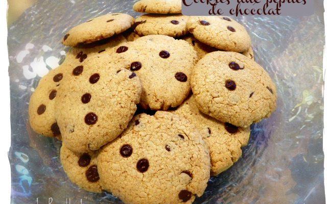 Cookies aux pépites de chocolat  {sans gluten, sans lait}