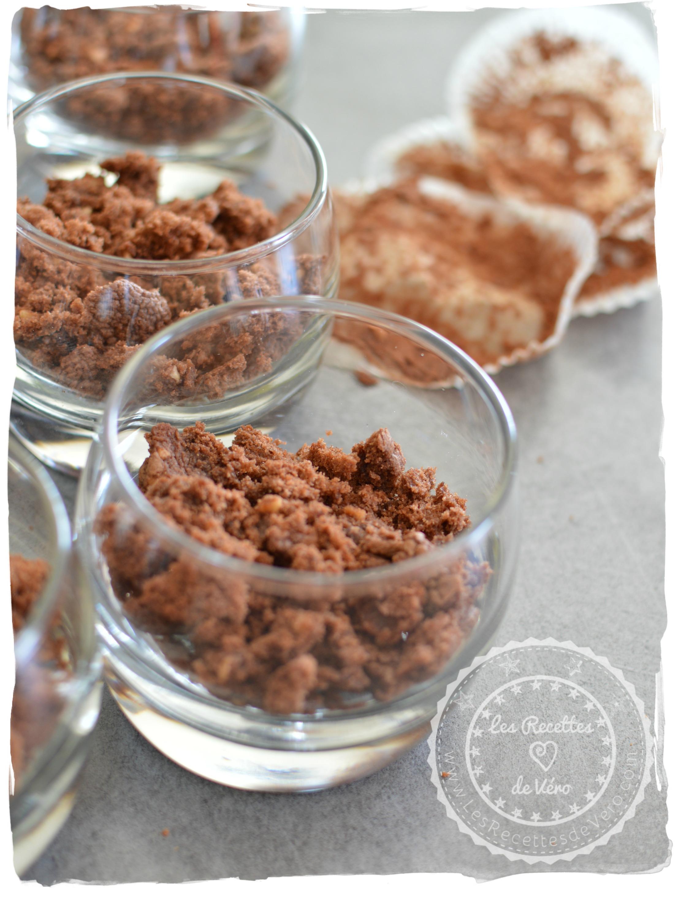 Brownies emiettés