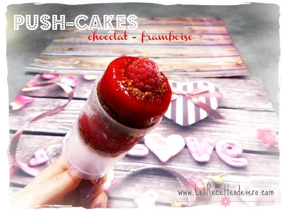 Push-cakes chocolat-framboises (sans gluten sans lait)