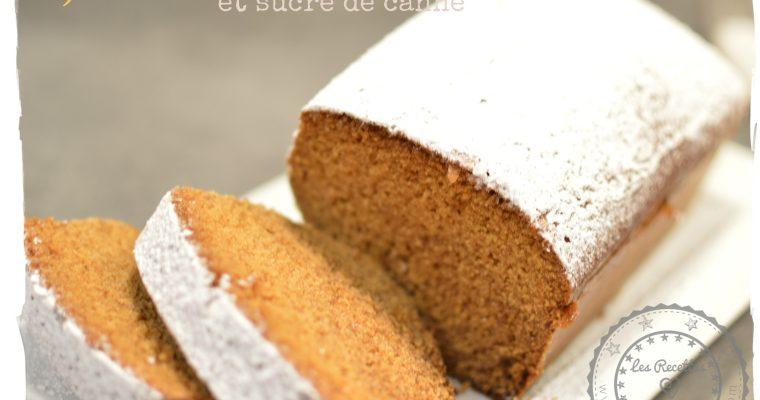 Cake au citron et sucre de canne (sans lait sans gluten) – Omnicuiseur