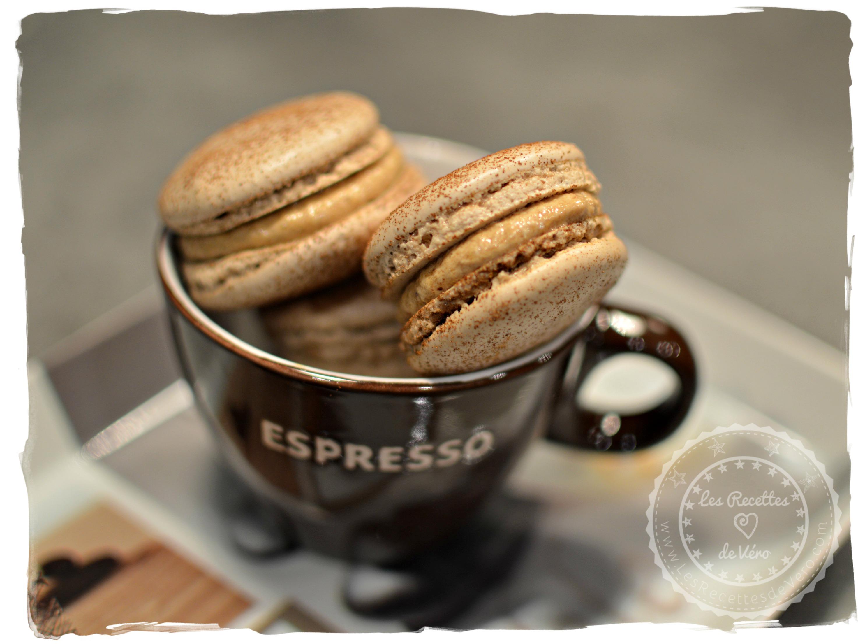 macarons au café 1