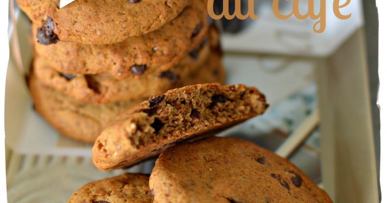 Cookies au café – sans gluten sans lactose