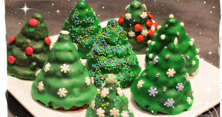 Petits sapins de Noël au sucre de coco – #sansgluten