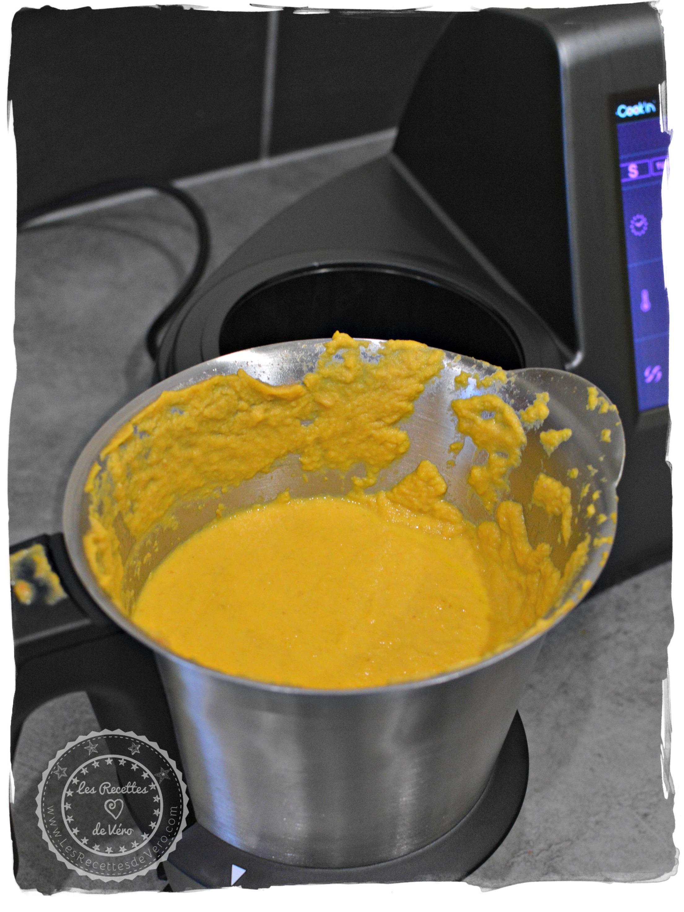 Soupe patate douce carottes