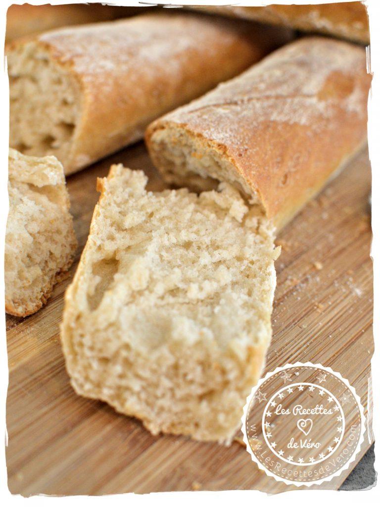 BIENVENUE CHEZ VERO - Voici la recette hyper facile et inratable pour réaliser les fameuses baguettes croustillantes prête en 1h00