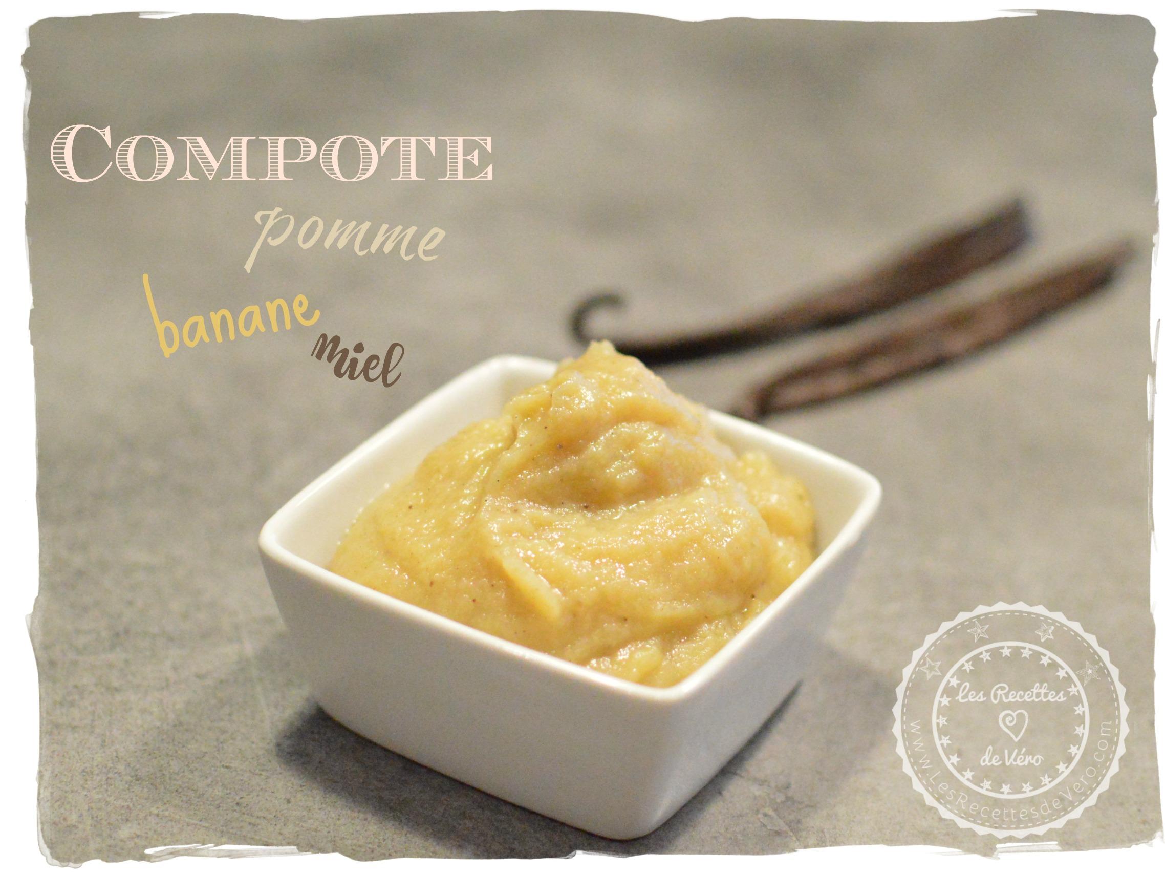 DSC_3395 compote pomme banane miel