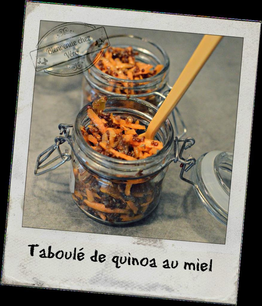 Taboulé de quinoa - Bienvenue chez vero