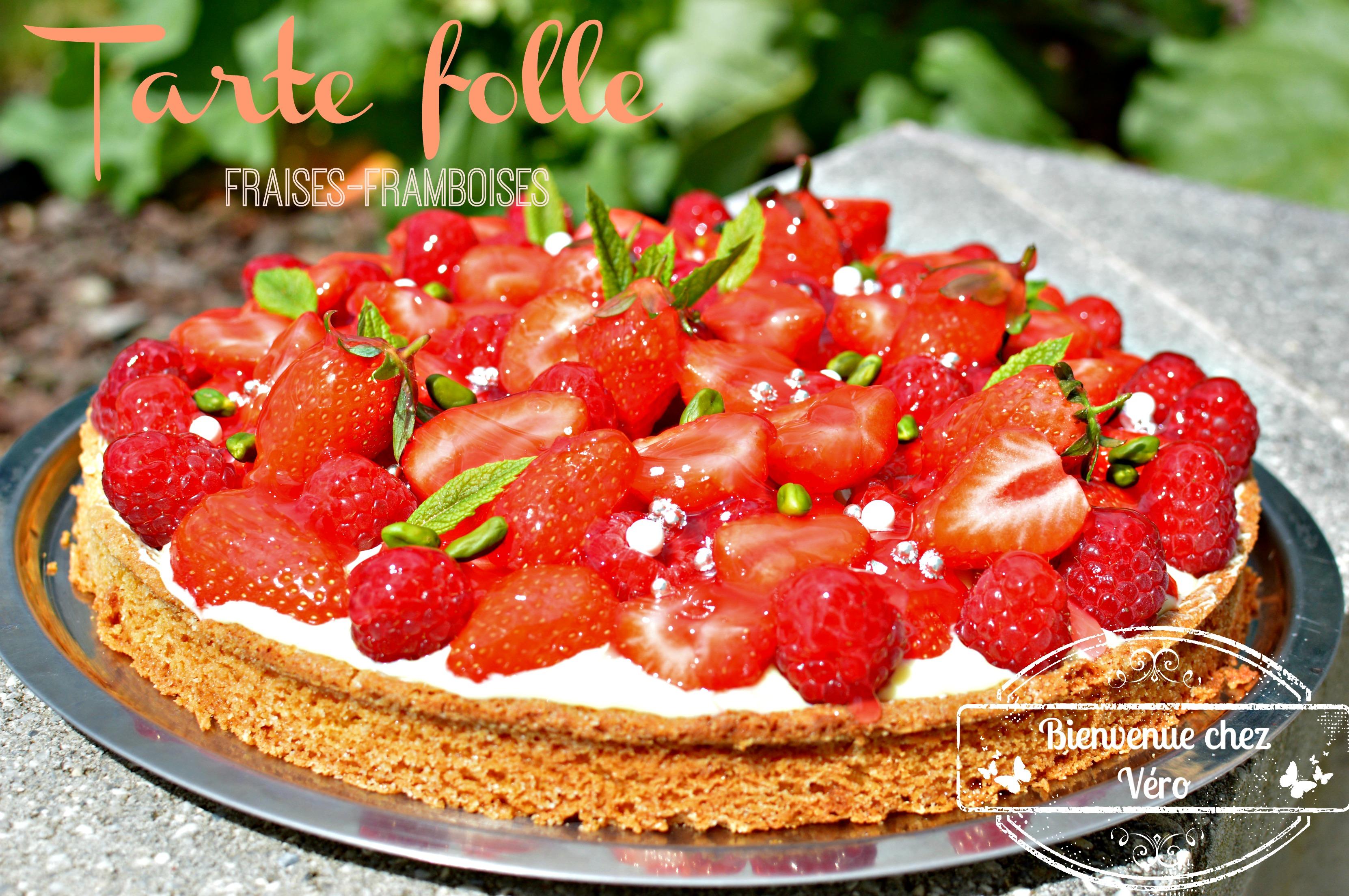 DSC_3727 tarte folle aux fraises