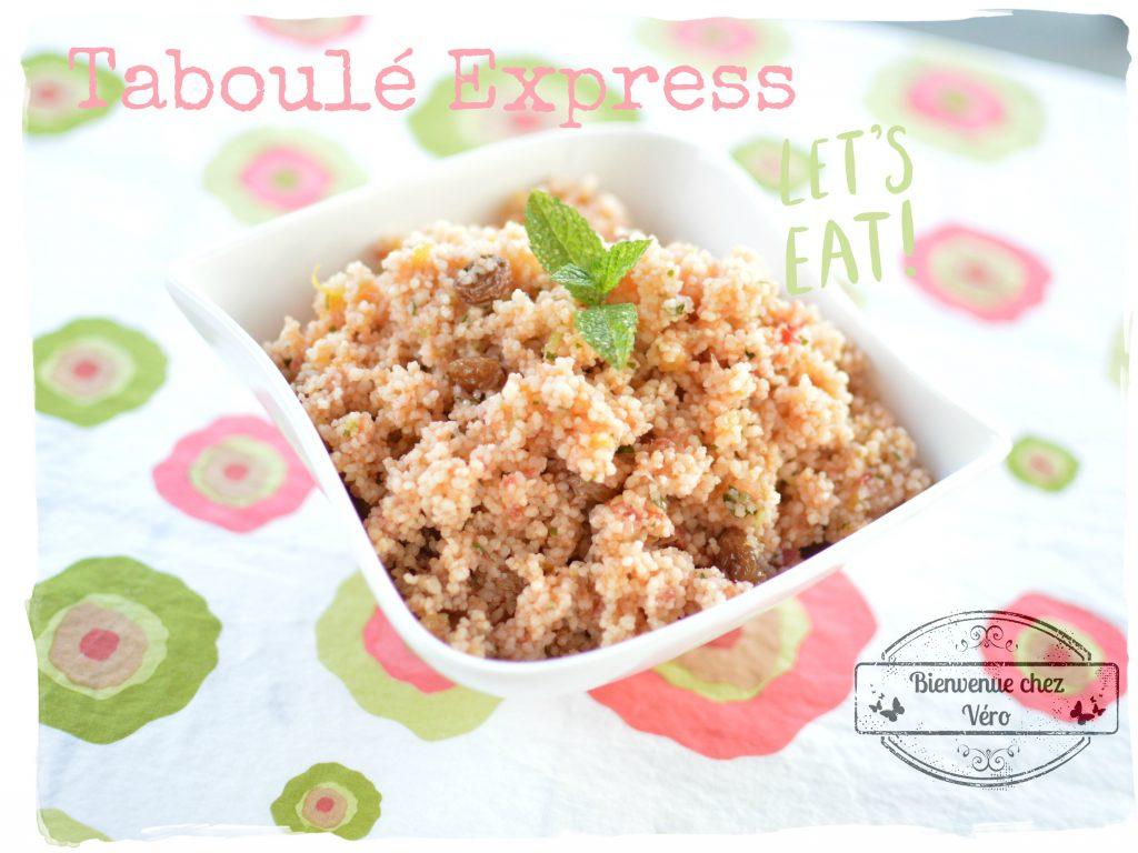 Bienvenue chez Vero - Taboulé express au i-cook'in