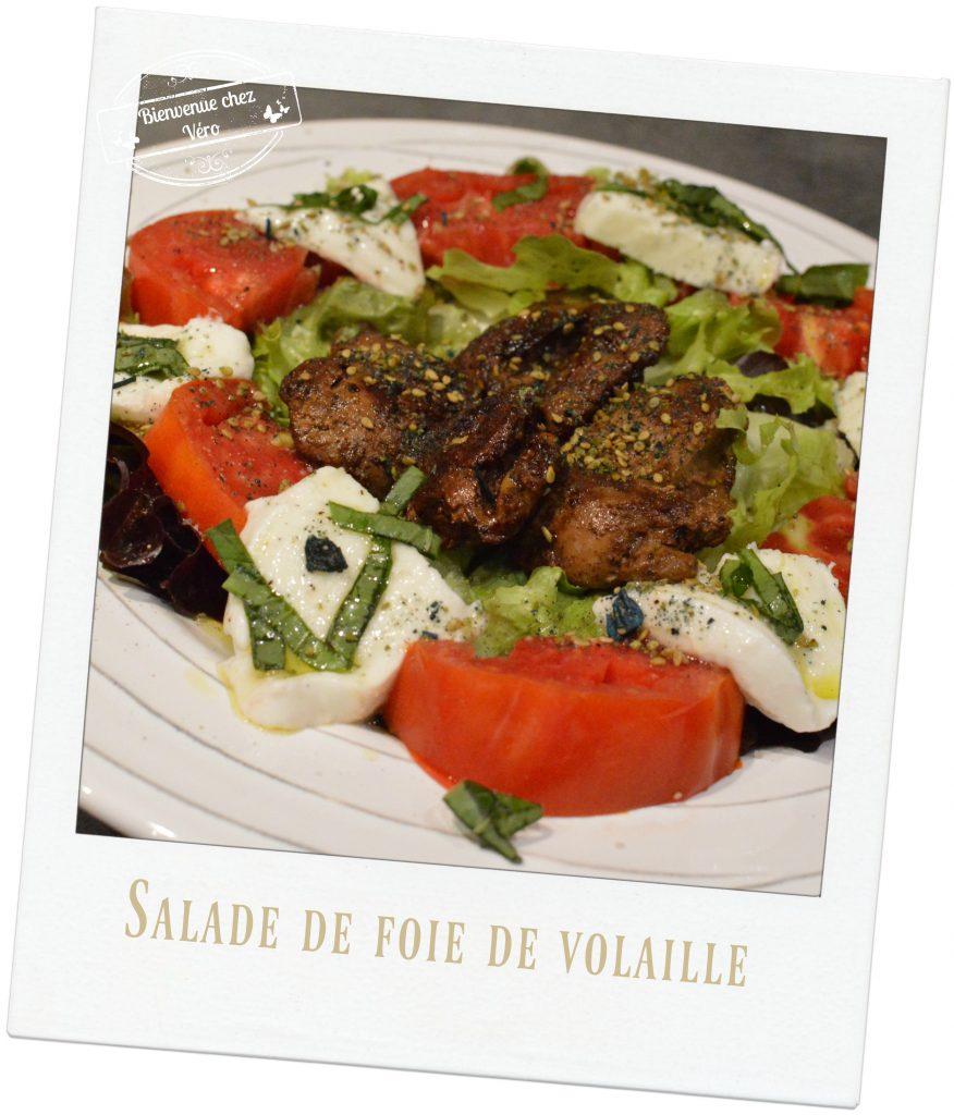 Bienvenue chez Vero - Salade de Foie de volaille