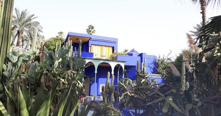 Le jardin Majorelle – Marrakech