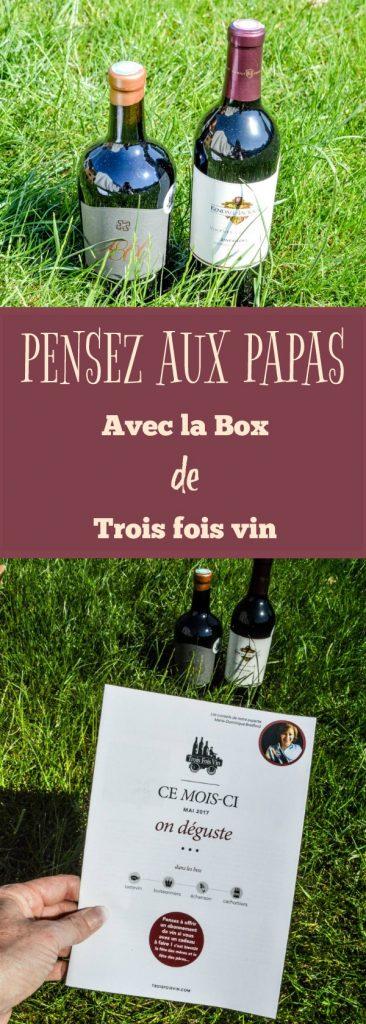 BIENVENUE CHEZ VERO - J'ai testé la box Echanson de trois fois vin