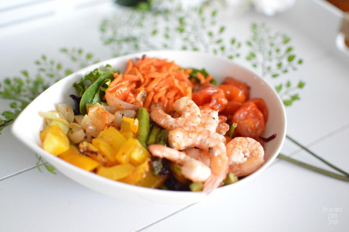 Bienvenue chez vero - Salade de légumes grillés - Pinterest