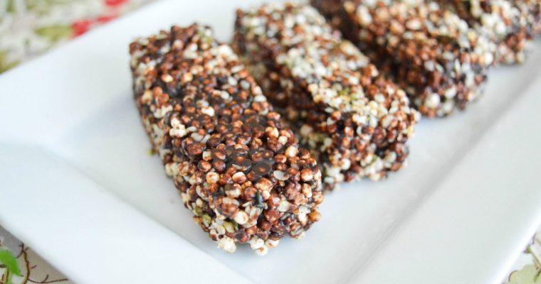 Barres énergétiques protéinées sans gluten sans lactose