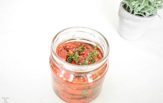 Comment réaliser des tomates semi séchées à l'huile ?
