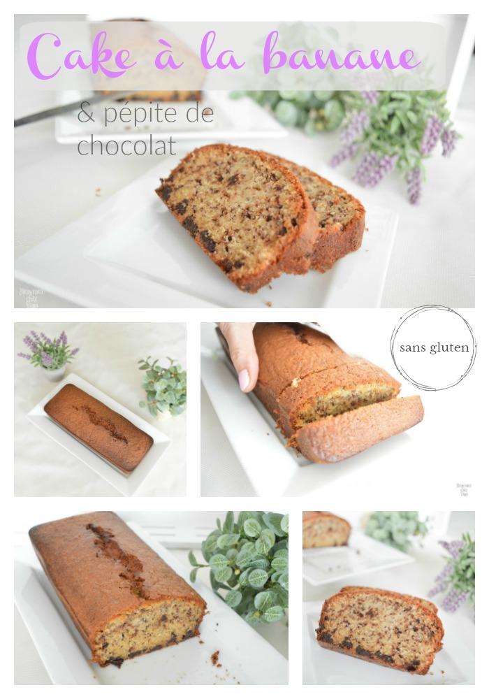 Cake Banane P Ef Bf Bdpite De Chocolat