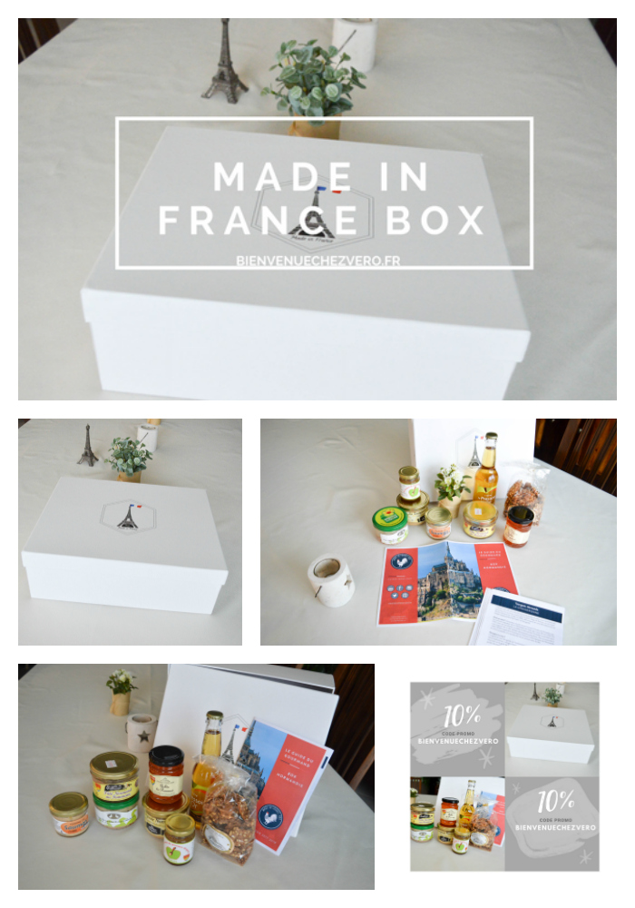 BIENVENUE CHEZ VERO - MADE IN FRANCE BOX