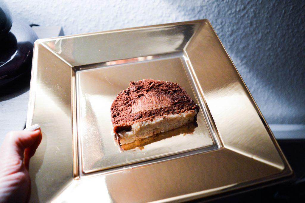 Bienvenue chez Vero - Buche chocolat - praliné