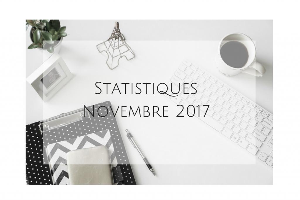 Bienvenue chez Vero - Statistiques Novembre 2017