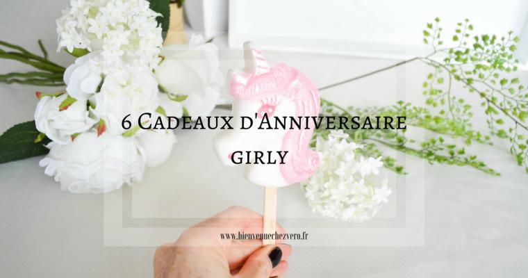 6 idées de cadeaux d'anniversaire girly tendance