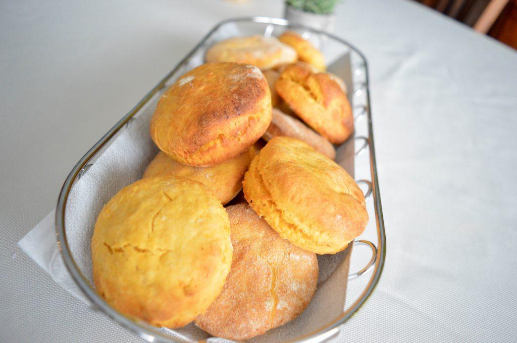 Bienvenue chez vero - Petits pains végétariens à la patate douce (1)