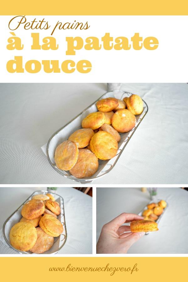 Bienvenue chez vero - Petits pains à la patate douce