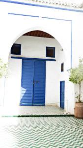 Bienvenue chez Vero - Palais Bahia - Porte bleue