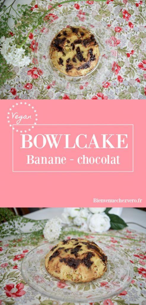 Bienvenue chez Vero - Bowlcake vegan banane chocolat