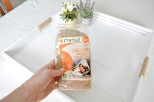 Bienvenue chez Vero - Lentilles corail noix de coco sarrasin - semoule de sarrasin Markal