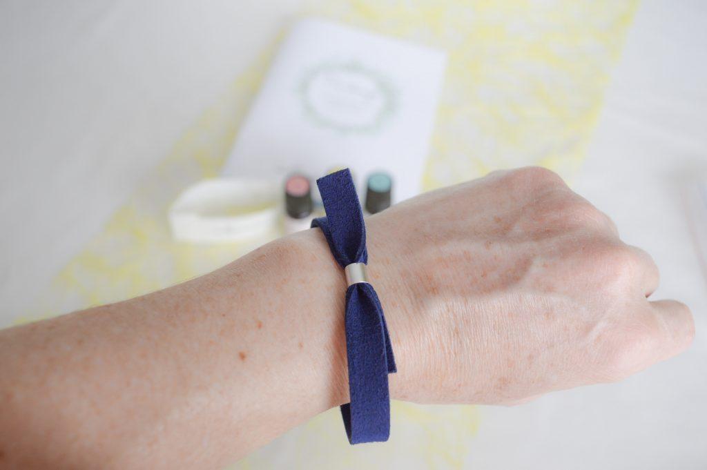 Bienvenue chez vero - Box Aroma Printemps de Millescence - bracelet gros plan