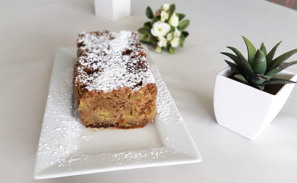 BIENVENUE CHEZ VERO - Cake sans gluten sans coeuf à la rhubarbe - OMNICUISEUR Four Vapeur - Cuisson douce