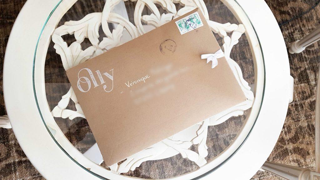 Bienvenue Chez Vero - Olly la culotte éco-responsable enveloppe