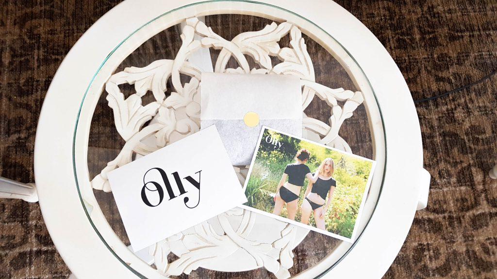 Bienvenue Chez Vero - Olly la culotte éco-responsable détail du colis