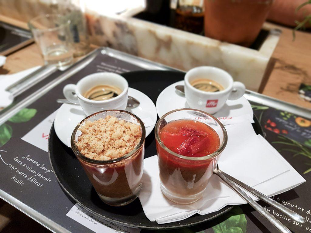 Bienvenue chez Vero - Chez vapiano Metz on mange aussi végétarien - desserts