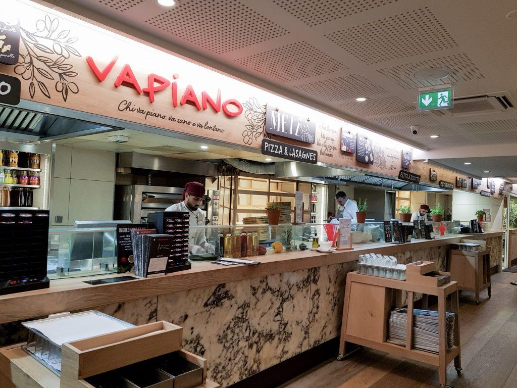 Bienvenue chez Vero - Chez vapiano Metz on mange aussi végétarien - stand