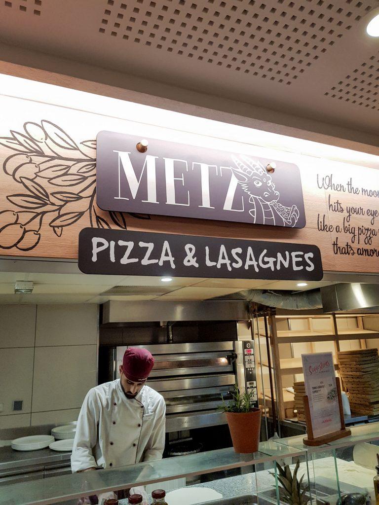 Bienvenue chez Vero - Chez vapiano Metz on mange aussi végétarien - stand pizza & lasagnes Metz