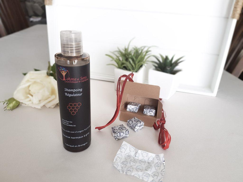 Le shampoing régulateur d'Ame et sens - Bienvenue chez vero