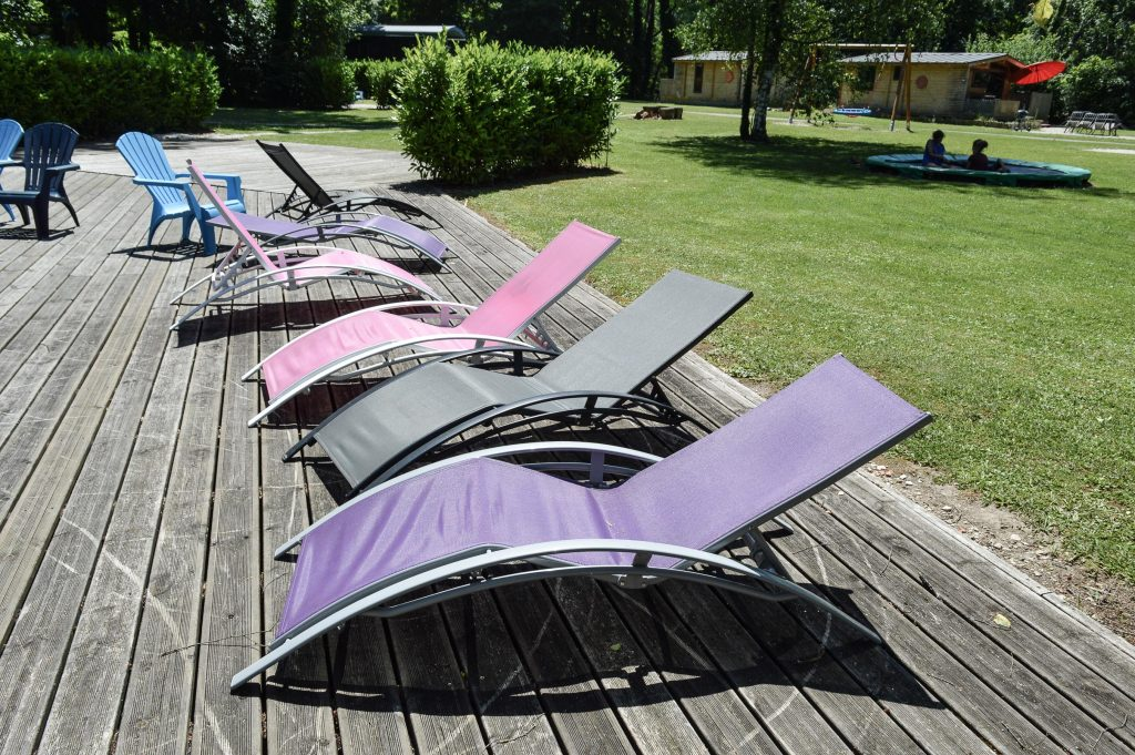 Bienvenue chez Vero - Mon week-end slowmoov aux roulottes de la Champagne terrasse piscine