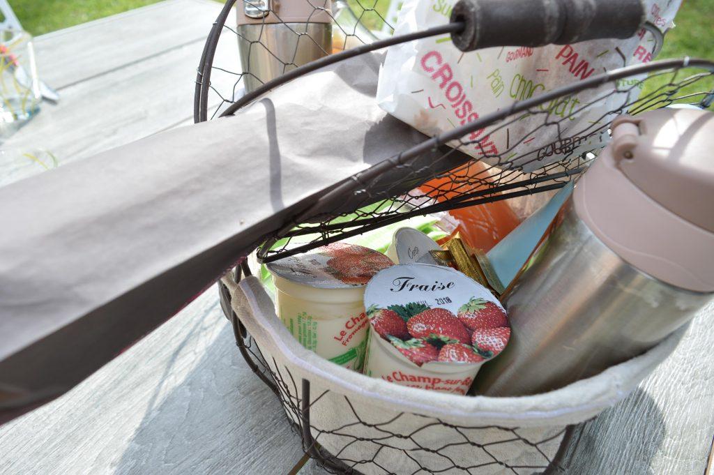 Bienvenue chez Vro - Mon week-end slowmoov aux roulottes de la Champagne - panier petit déj
